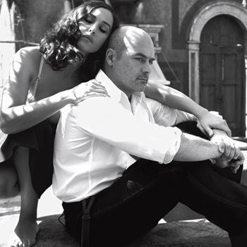 Luca zingaretti,Monica Bellucci, in sanguepazzo, Luca was born in 1961 in Rome.