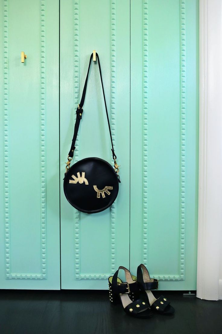 Customize Your Closet Doors With Trim So Pretty! (click Through For  Tutorial)