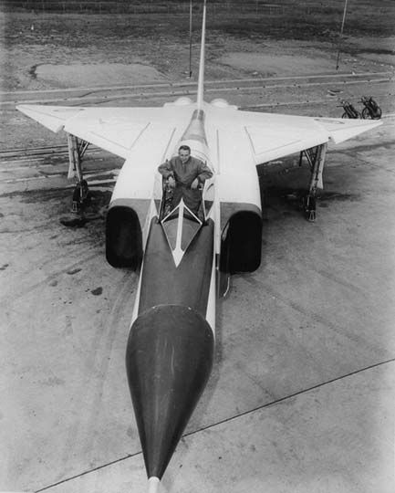 Avro CF-100 Arrow test pilot Jan Żurakowski