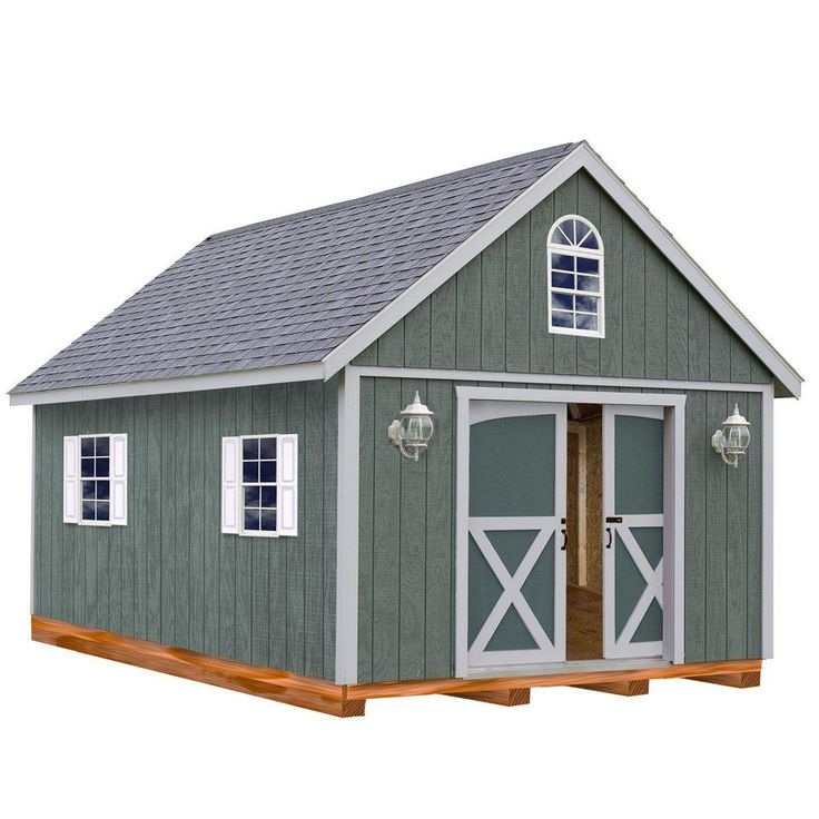 wood storage shed kit with floor including 4