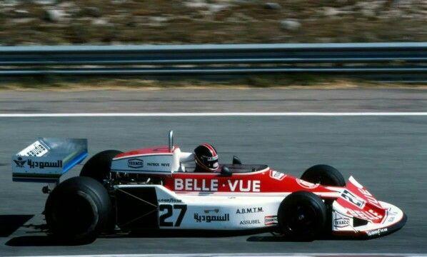 Patrick Neve March 761 for Frank Williams Racing Jarama 1977