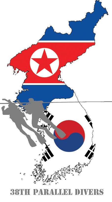 The 38th Parallel divided Korea into North and South Korea. Later, North and South Korea broke out in war.