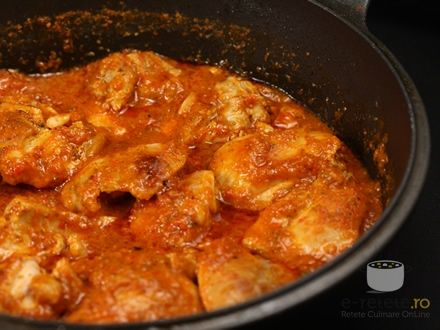 Chicken Romanian Style! This is sooo good!