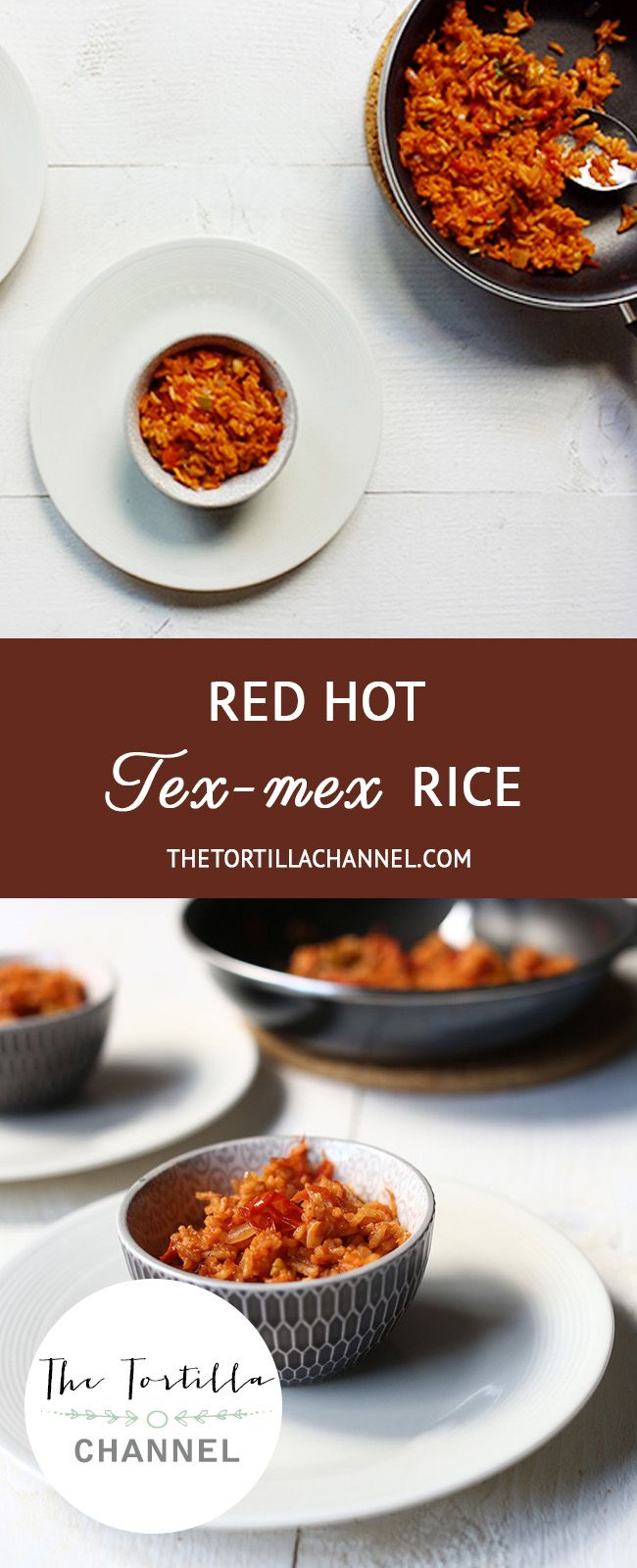 Rice is one of my favorite side dishes. This red hot tex-mex rice is a one pot rice recipe that takes about 20 minutes to prepare. So let get started! #vegan #thetortillachannel