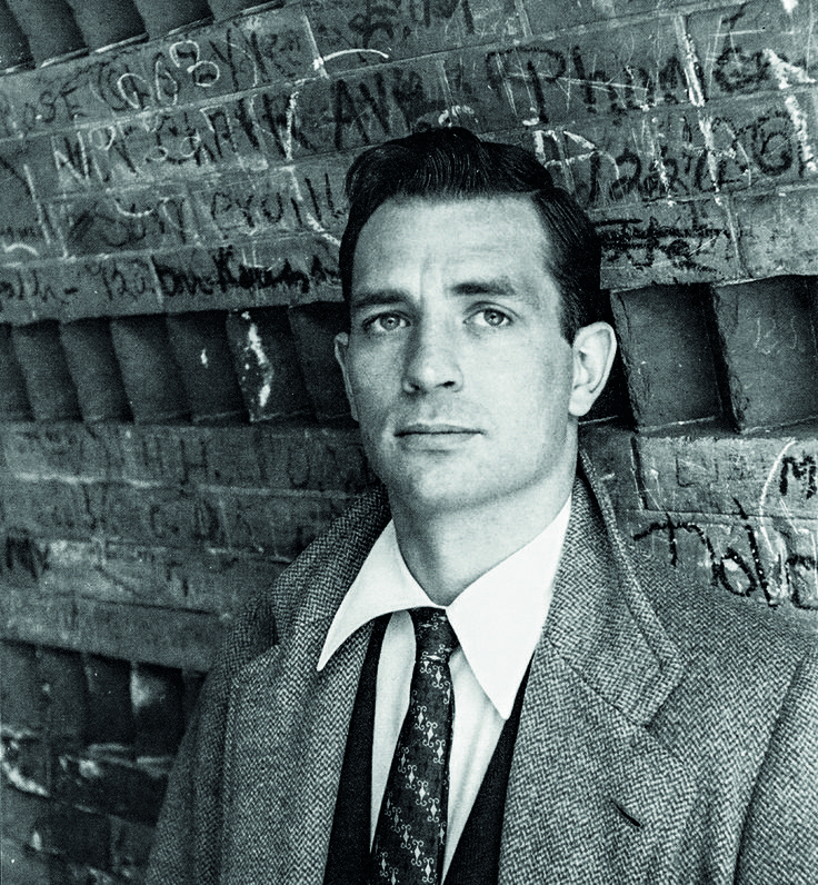 "A pain stabbed my heart, as it did every time I saw a girl I loved who was going the opposite direction in this too-big world."" - Jack Kerouac, March 12, 1922 – October 21, 1969 """