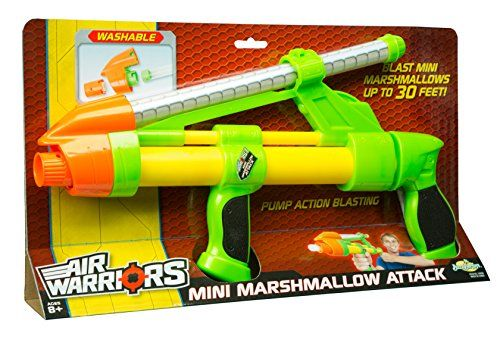 Buzz Bee Toys Air Warriors Mini Marshmallow Attack Blaster ** Check out the image by visiting the link.Note:It is affiliate link to Amazon.