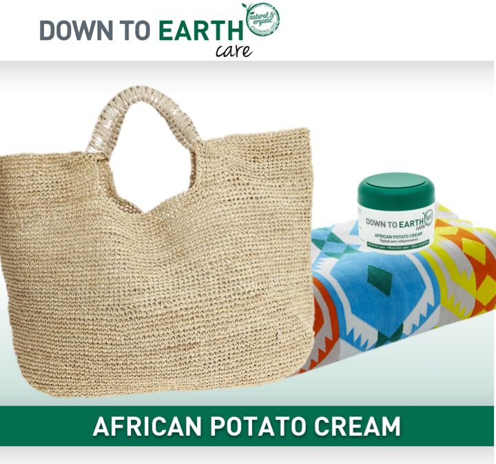 Why should African Potato Cream be taken with to the beach this summer?  Because it is an excellent post sun soother and healer! The potent anti-inflammatory and immune strengthening properties as well as the high sterol and sterolin content enable accelerated healing. Don't go on holiday this year without it!