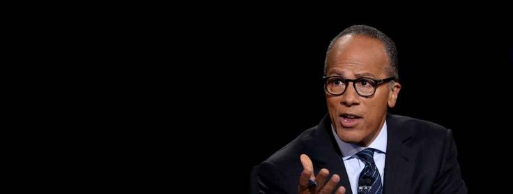 Lester Holt: The Third Debater? At tonight's debate, Donald Trump faced off not just against Hillary, but against moderator Lester Holt.(9/26/16)