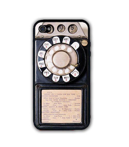 Vintage Retro Payphone Rubber Silicone Case COVER FOR IPHONE 6 6S PLUS SE 5S 5C #UnbrandedGeneric