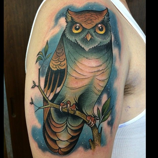 1248 best images about tattoos on pinterest traditional for Owl heart tattoo