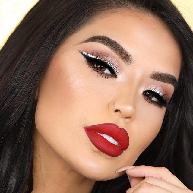 Arriba Red Lipstick Makeup Looks Red Lipstick Makeup Eyeshadow