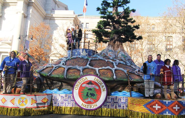 'The True Spirit of Thanksgiving': Oneida Nation's Macy's Parade Float Captivates the Crowds - ICTMN.com