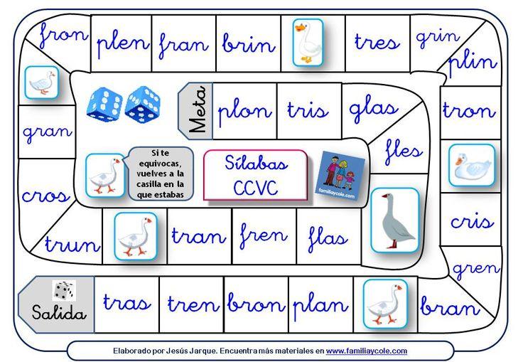 Entra y descárgate ahora diferentes juegos de la oca para leer trabadas y otras…