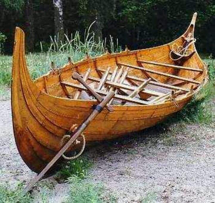 Smaller version, Viking boat