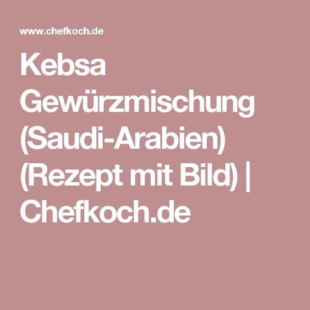 Kebsa Gewürzmischung (Saudi-Arabien) (Rezept mit Bild) | Chefkoch.de