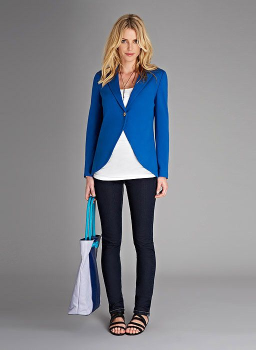 The Everyday Maternity Blazer at isabellaoliver.com