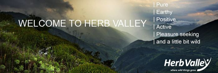 About Herb Valley | Positive, active, pleasure seeking, pure, earthy and a little bit wild.