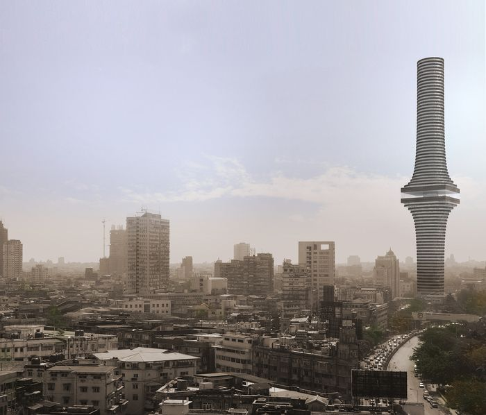 India Tower Competition Entry. OMA (2008)