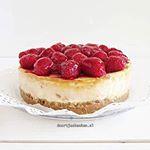 Nu online! Deze overheerlijke frambozen cheesecake mjam! doortjeskeuken foodies foodiehellip