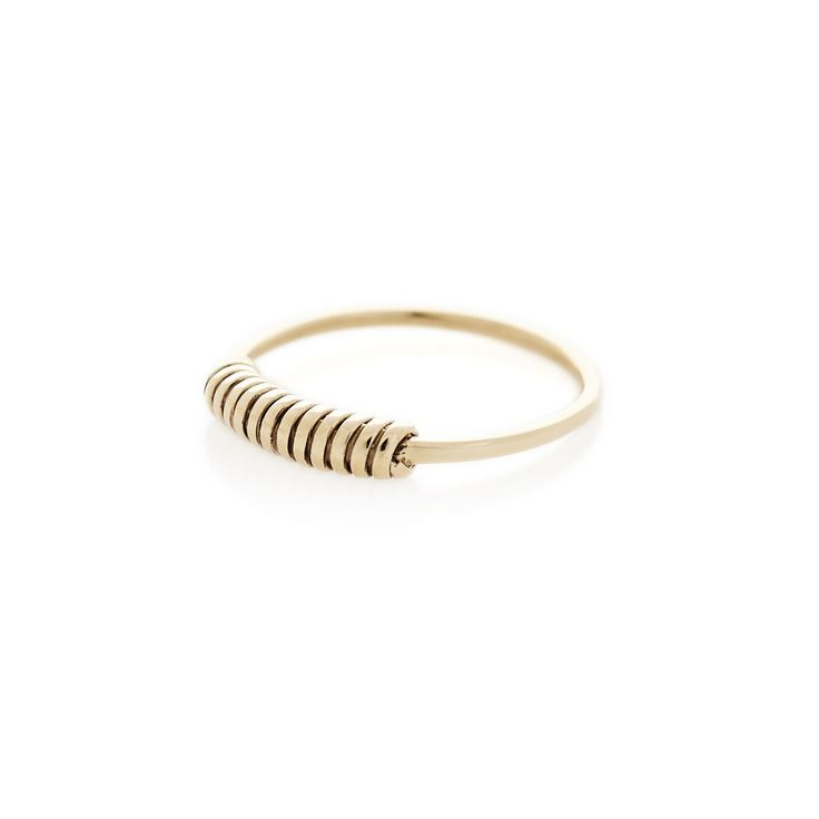 Yellow Gold Wrap Around ring | Dear Rae | Online shop