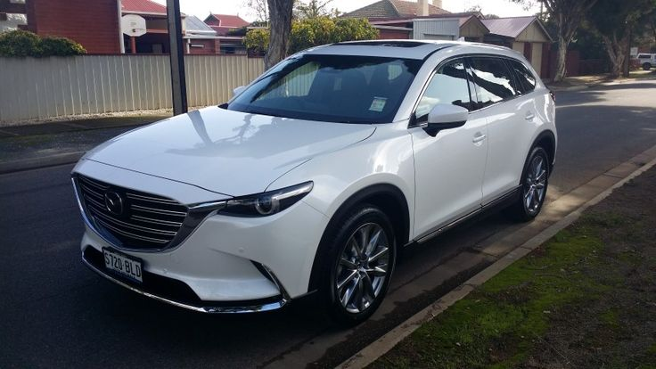 The newly redesigned Mazda CX-9.