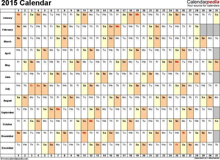 25+ unique 2015 calendar uk ideas on Pinterest 2015 and 2016 - attendance calendar template