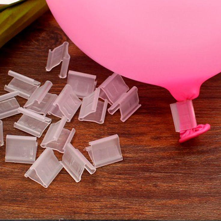 60 unids/lote clip de papel de globos de látex globo clip de bolas de aire inflable toys cumpleaños fiesta de bodas decorantion kids bebé de juguete de bolas