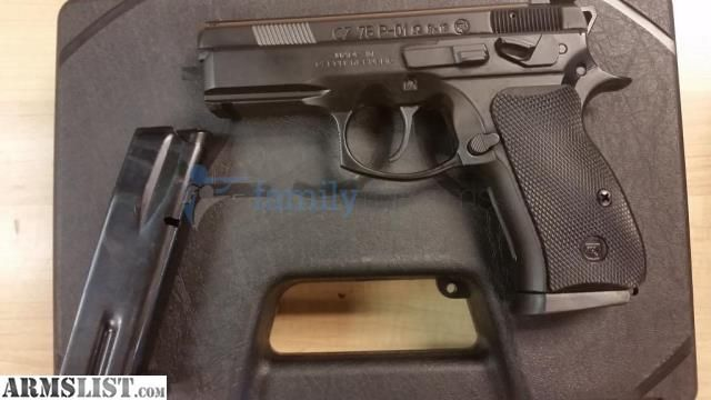"ARMSLIST - For Sale: CZ 75 P-01 Omega,, Compact, 9MM, 3.7"" 91229"