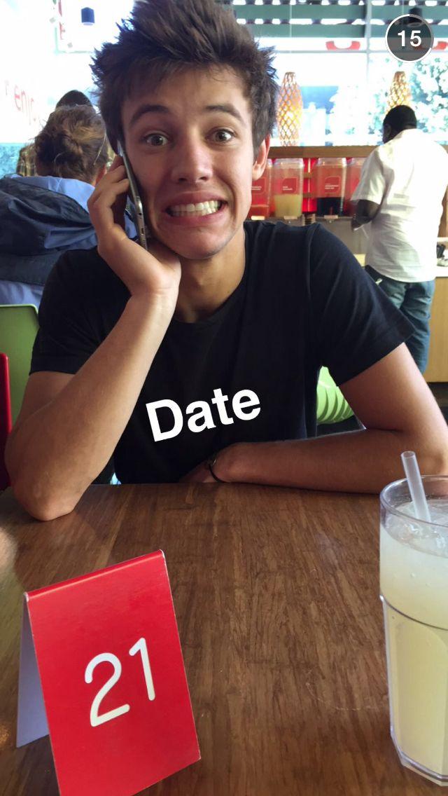 Who is cameron dallas dating in Australia