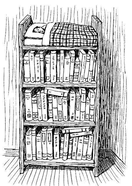 I dream of books