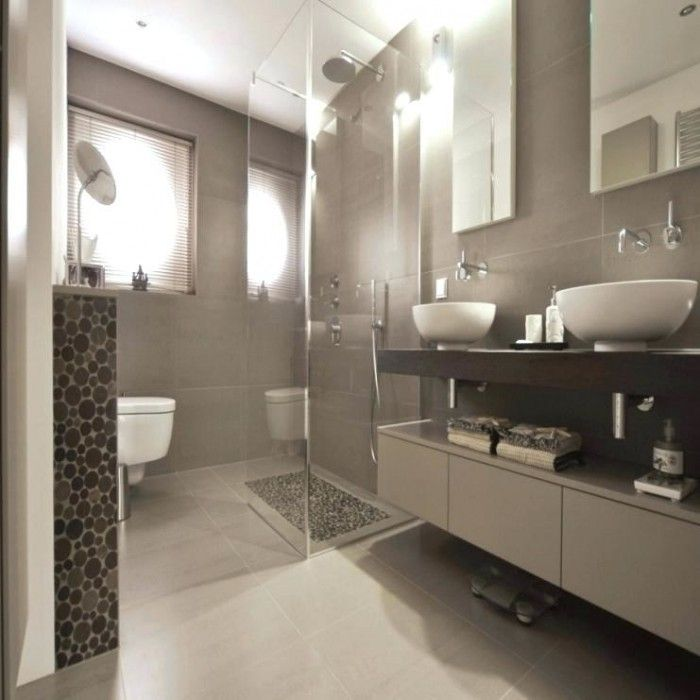 Badezimmer Ideen Holzfliesen   Badezimmer   Bathroom, Tiny ...
