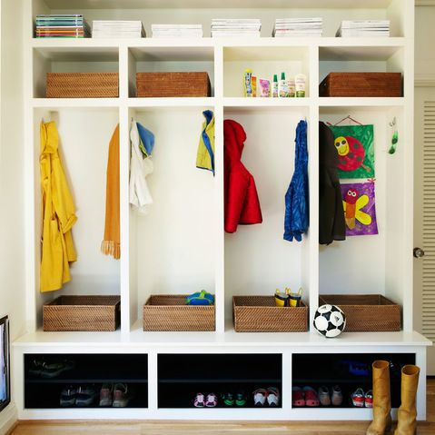 36 best images about no coat closet needed on pinterest for Front room storage