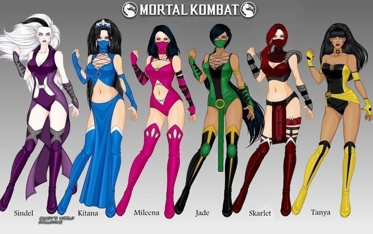 Mortal Kombat: Women of Edenia by LadyRaw90
