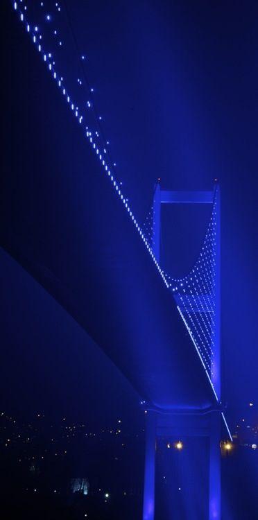 Bosphorus Bridge, Istanbul, Turkey. A path I have taken. A beautiful span.