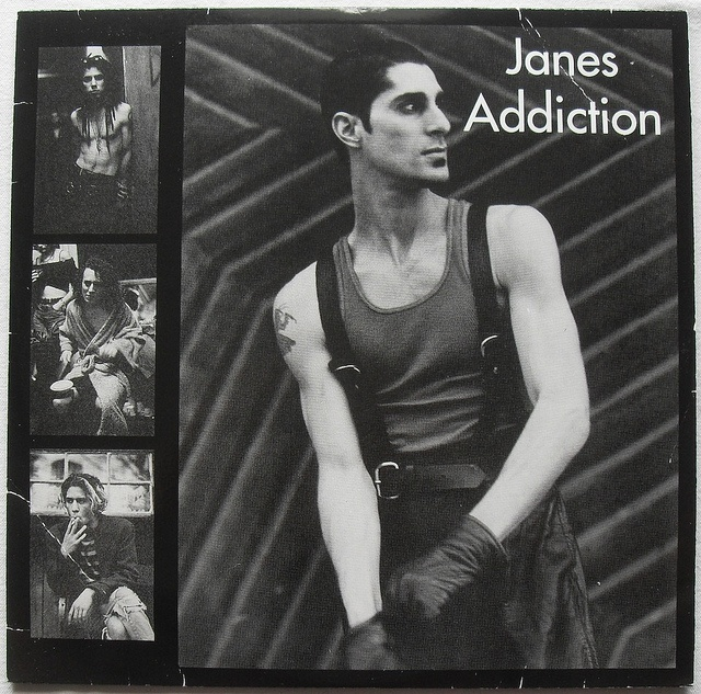 JANES ADDICTION Toted this giant poster around from dorm room to dorm and then apartment to apartment...
