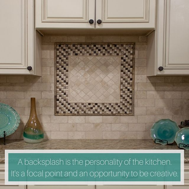 Get Creative With Your Kitchen Backsplash, And Add A Piece Of Your  Personality! #