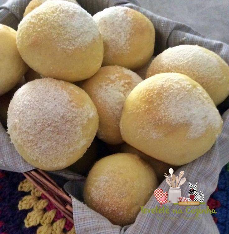Aprenda a fazer um delicioso pãozinho caseiro, pão de leite em pó. Pão com…