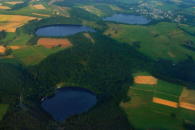 Naturwunder ...: Die Dauner Maare in der Vulkaneifel