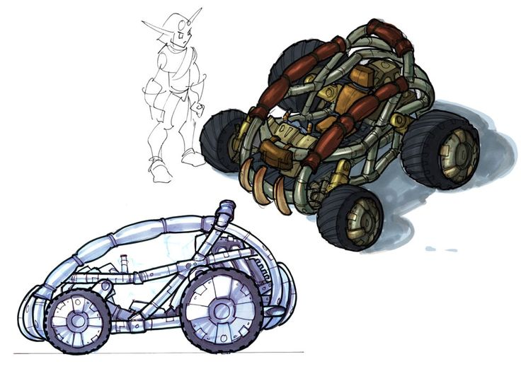 Vehicle Design from Jak 3