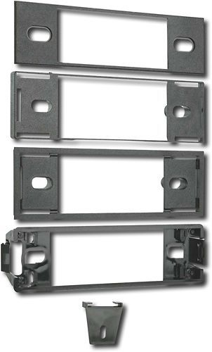 Metra - Radio Installation Dash Kit for Most 1989-2000 Ford, Lincoln & Mercury Vehicles - Black