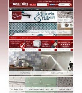 Tons of Tiles eCommerce Website Launch - The dv8media Blog