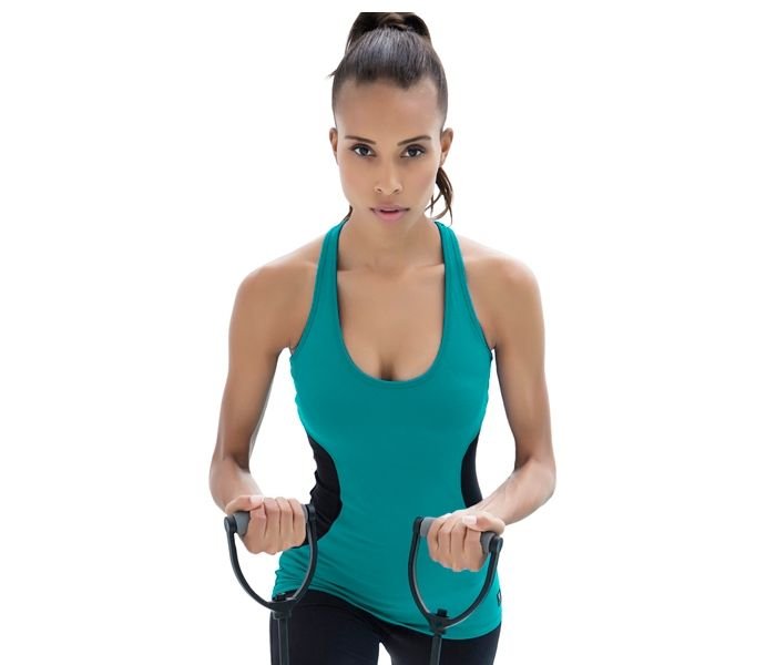 http://hotslistsports.com ION Actif Hourglass Tank. Hot workout clothing for woman.