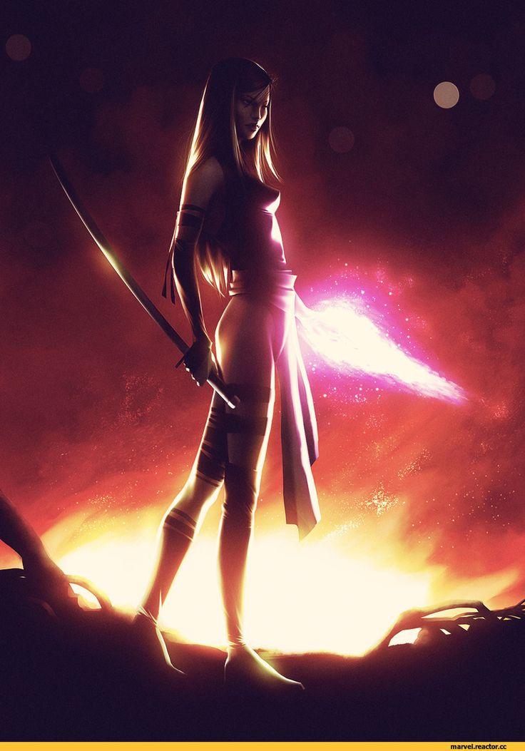 арт девушка,красивые картинки,art,арт,Psylocke,Псайлок, Элизабет Брэддок,X-Men,Люди-Икс,Marvel,Вселенная Марвел,фэндомы