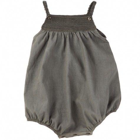 ketiketa - martika romper (asphalt grey)