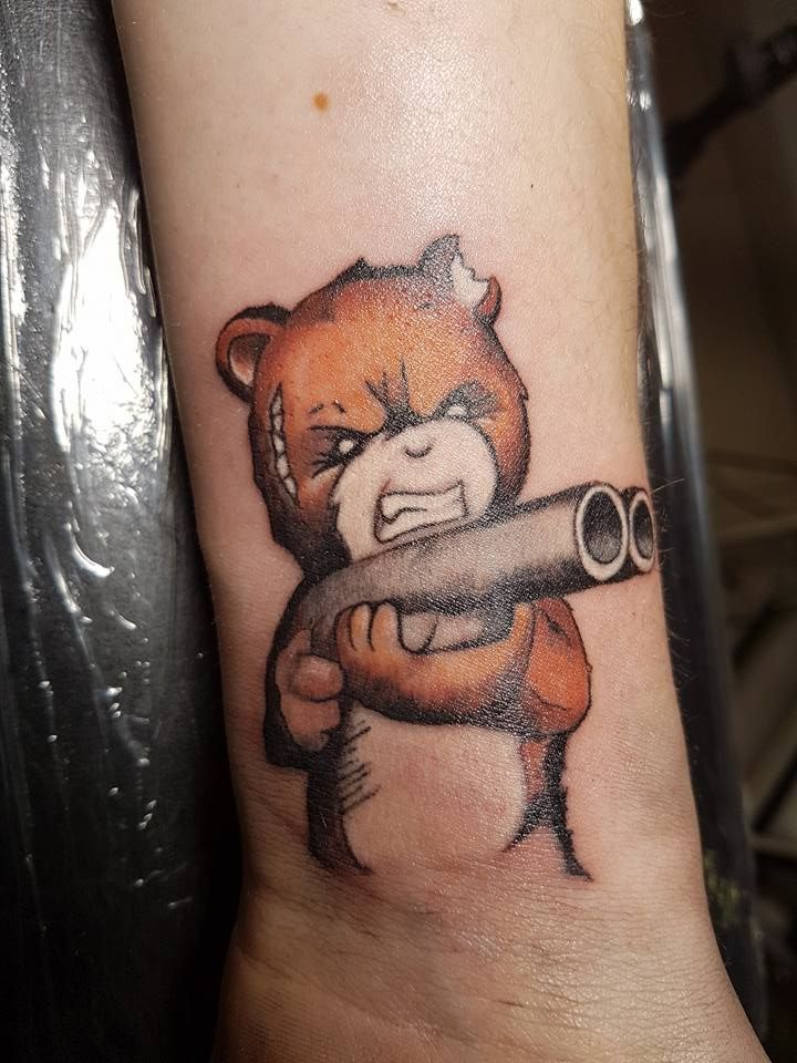 Den Teddybären nicht ärgern