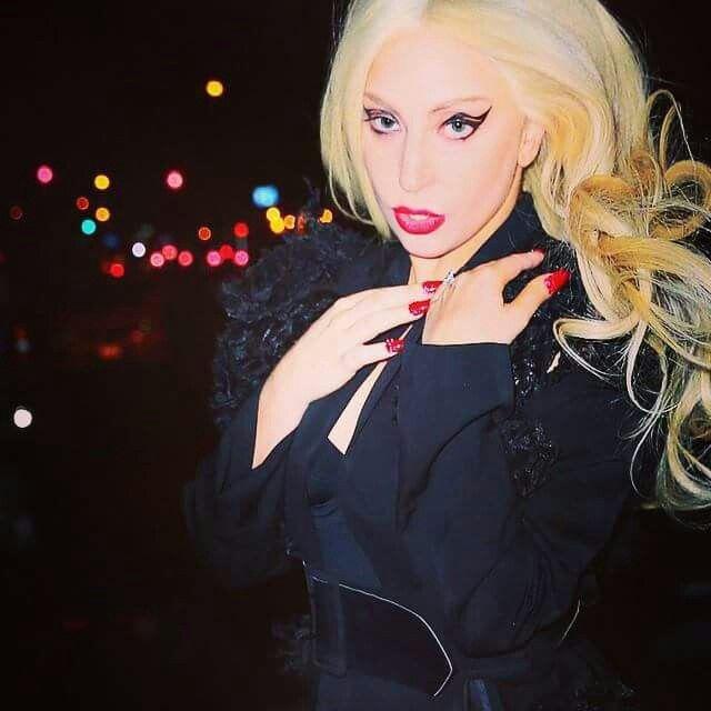 Leather Statement Clutch - Lady Gaga: Mother Monster by VIDA VIDA OFHBgu3