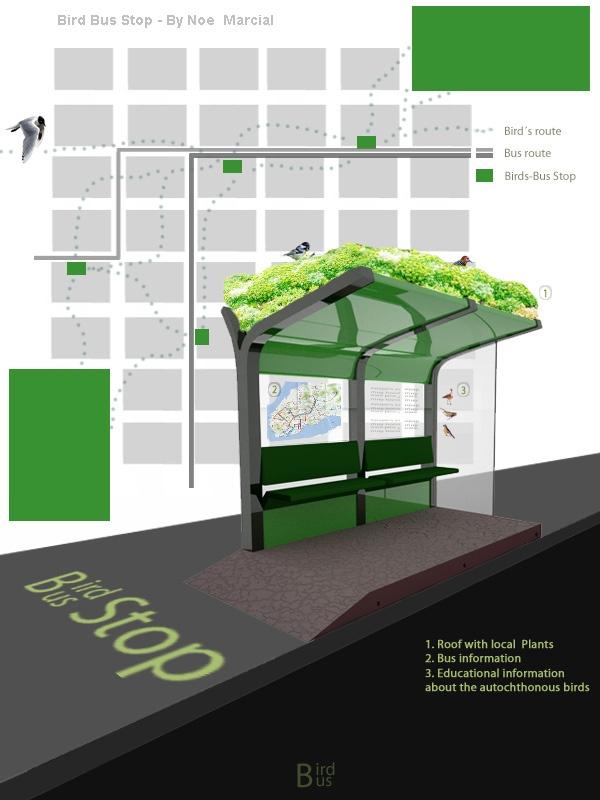 Best 25 bus stop design ideas on pinterest for Disenos de techos