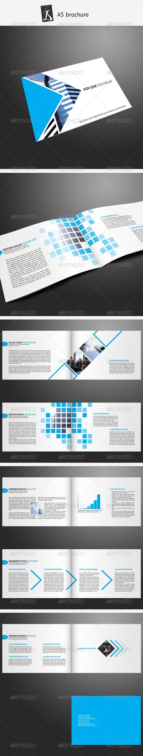A5 brochure 7 - GraphicRiver Item for Sale