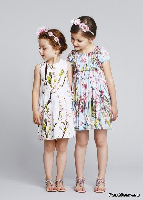 Dolce & Gabbana Bambino Весна-Лето 2014 / дольче габбана детская коллекция