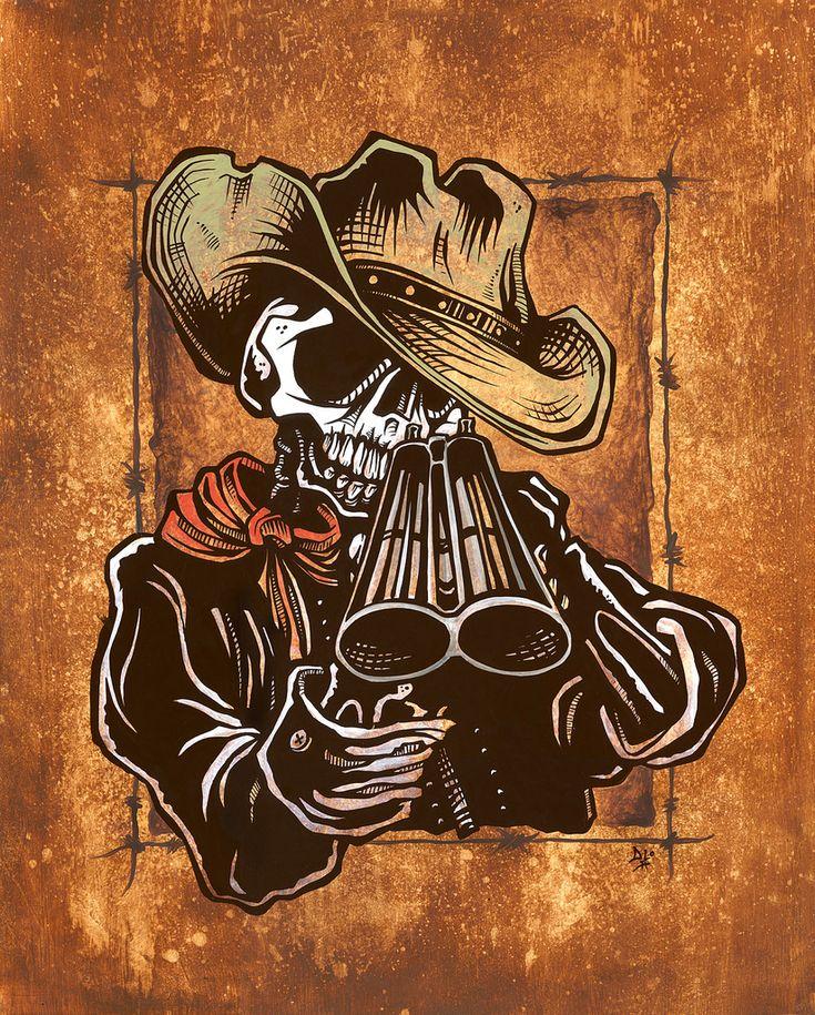 Wild-West Art - Draw! by David Lozeau
